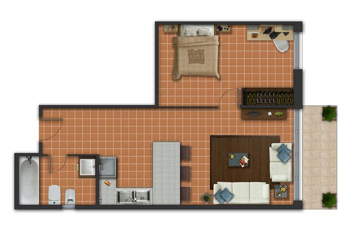 Click for larger plan. Golf Apartaments Beach   Golf Resort  Platja de Pals  Costa Brava