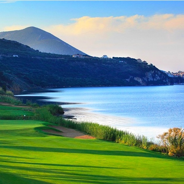 View of the Bay from Costa Navarino Golf, Greece