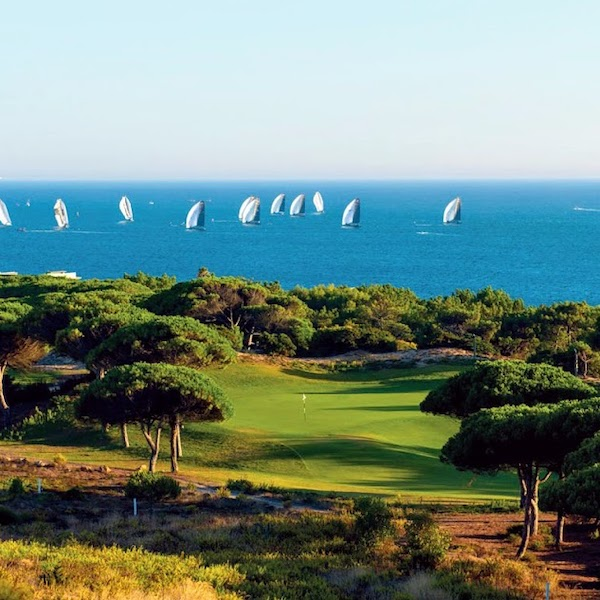 Beautiful view of the Atlantic from Oitavos Dunes Golf, Cascais, Portugal